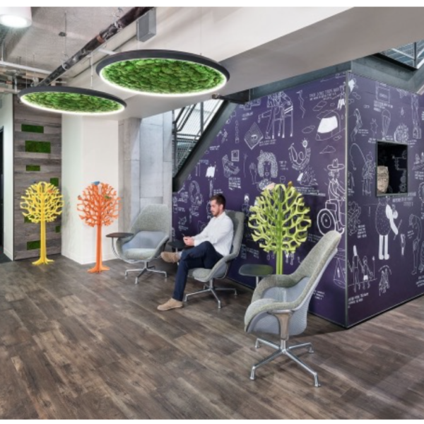 This would be a gorgeous look for a tech office in San Francisco.