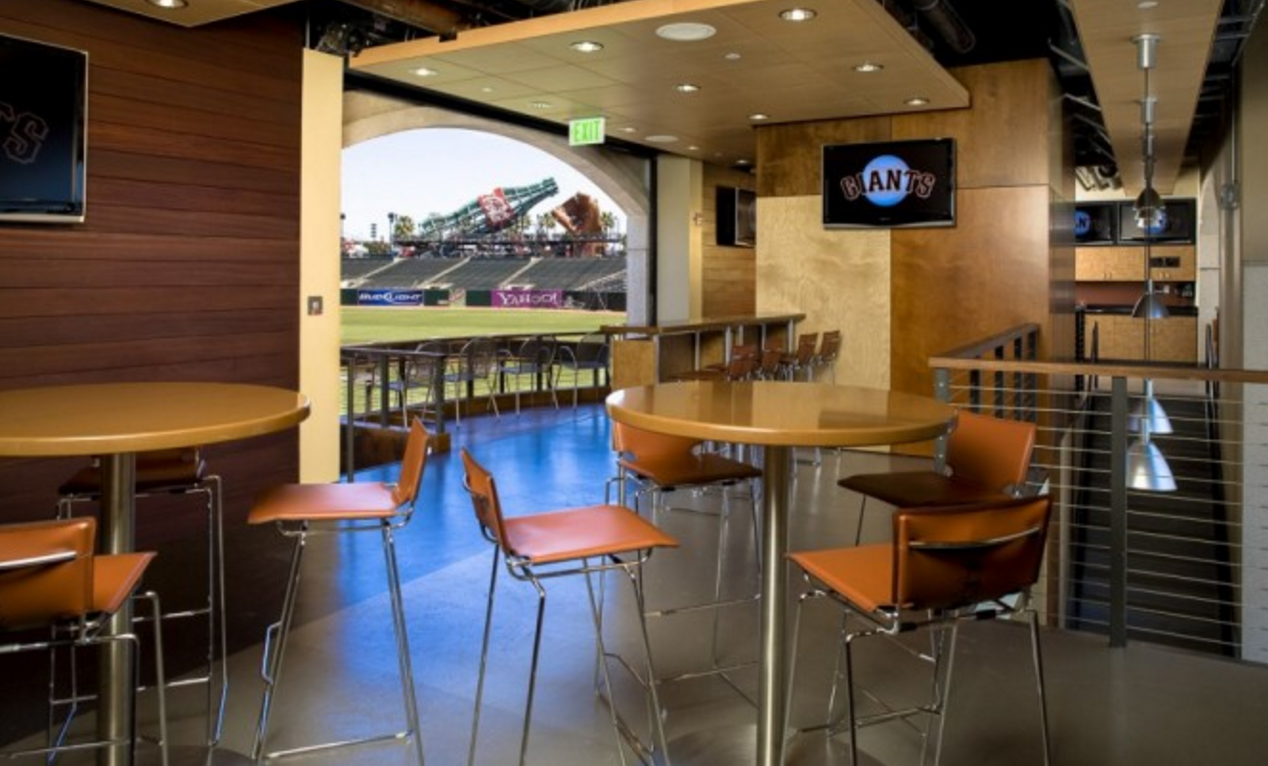 Furniture Provided By J. Goldschmidt Associates And Photography By John  Benson At The SF Giantu0027s Ballpark ...